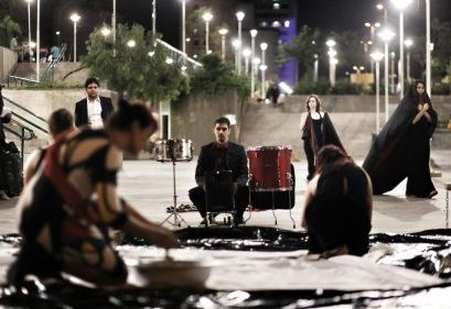 Intervenção Performática Tapete Manifesto - Festival BaixoCentro 2013