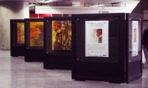 Cores e Traços da Origem - Metrô Estação Corinthians - Itaquera