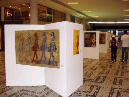 Movimento 1, 2, 3..., Thaís Medeiros, Espaço Cultural Conjunto Nacional, São Paulo, SP, 2010