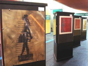 Movimento 1, 2, 3..., Thaís Medeiros, Metrô estação JD São Paulo, São Paulo, SP, 2010