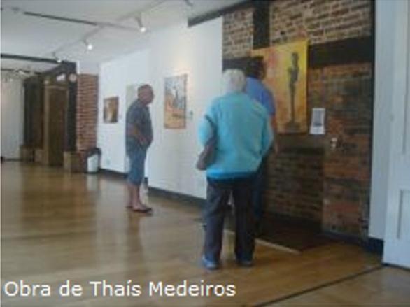 IV Mostra Internacional Brasileira - Prêmio ICSA Internacional de Cultura 2011 - London, UK - Obra deThaís Medeiros - Medalha de Bronze