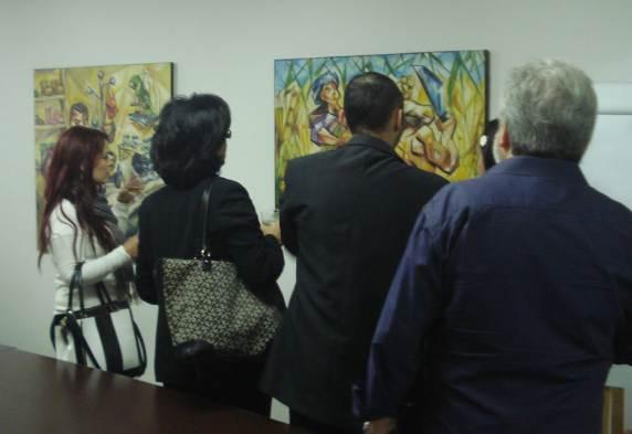 Cotidiano, Ulysses Sanchez, Mostra individual no IV Happy Hour Cultural da WorldOne, São Paulo , 2013