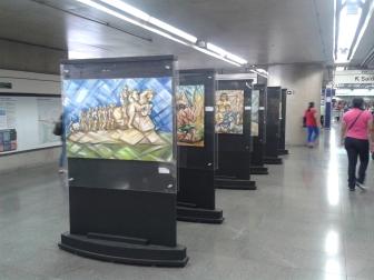 Cotidiano, Ulysses Sanchez, Metrô estação Paraíso, São Paulo, SP , 2014