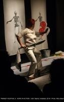 Tríptico: Ossos, Batom Vermelho e Hamlet. Foto: Rina Skeel